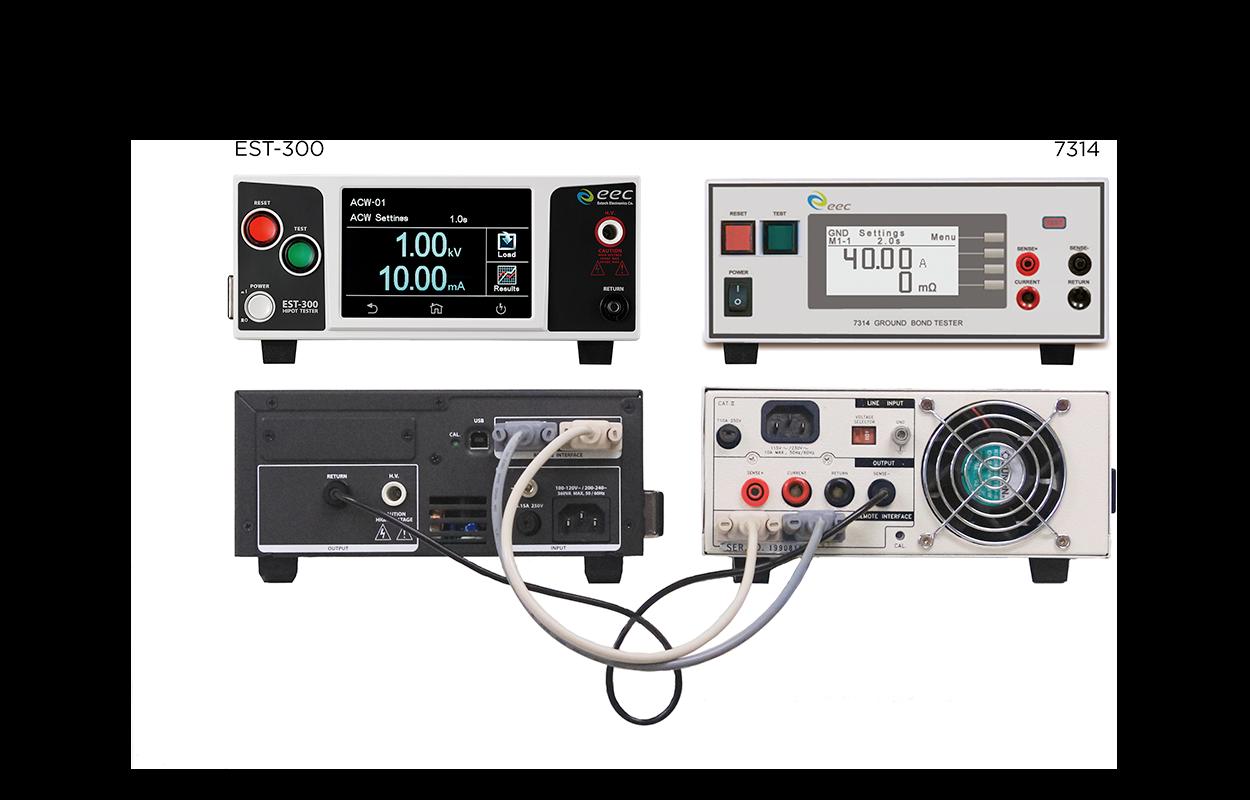 安规四合一测试系统 (ACW, DCW, IR, GB)
